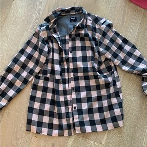 Flannel Hurley M
